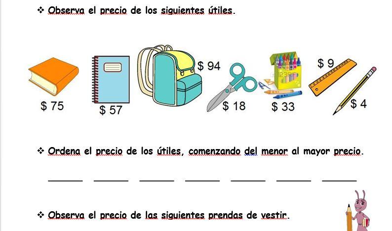 Dorable Ejercicios De Matemáticas Para El Grado 3 Composición ...