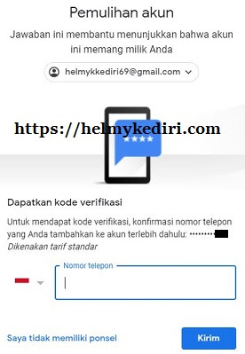 akun gmail yang lupa password 1
