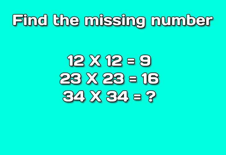 Solve logic math riddle