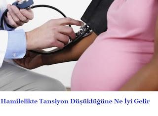 Hamilelikte Tansiyon Düşüklüğüne Ne İyi Gelir