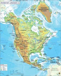 उत्तरी अमेरिका