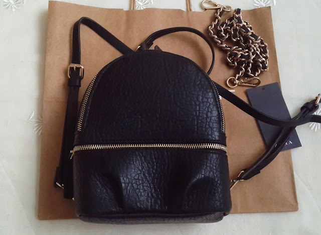 zara backpack, zara sırt çantası, zara çanta, zara bag, black backpack, backpack,