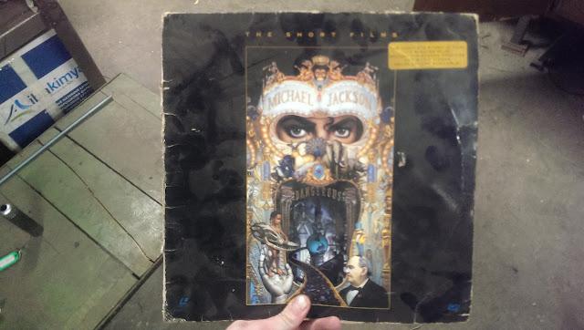 Лазерный диск Michael Jackson - Dangerous