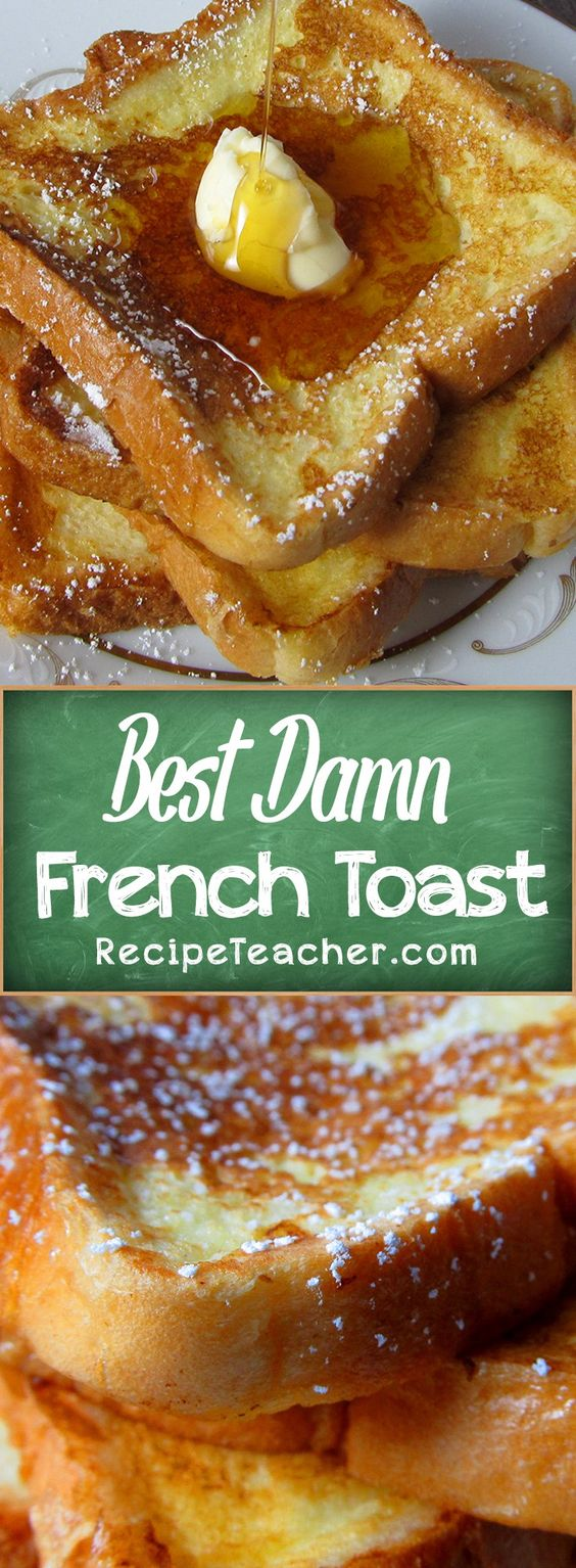 The perfect recipe for classic French Toast.
