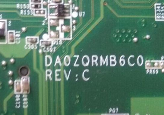 DA0ZQRMB6C0 REV C ACER 4349 Laptop Bios