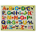 Bey Bee Wood Educational Toys (Upper Alphabets Learning Kit)