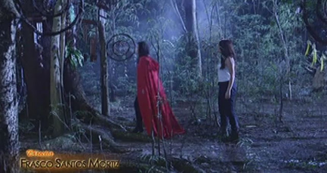 Jacintha And Malia Seek Help To The Wizard For Them To Visualize The Future!