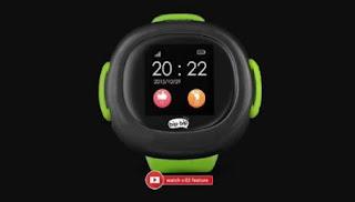 Tampak Jam Tangan Pintar Bipbip Watch V.02