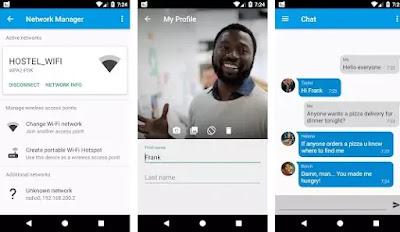 aplikasi chatting gratis tanpa koneksi internet di Android-3