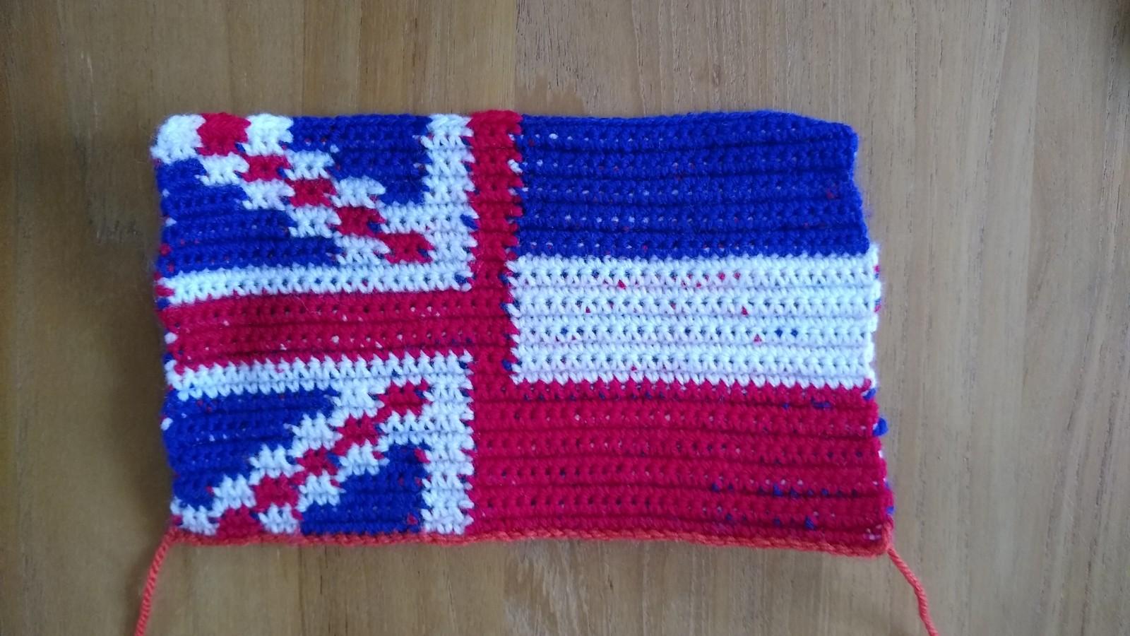 Petra Shopgarage Engels Nederlands Vlaggetje Voor Op Een