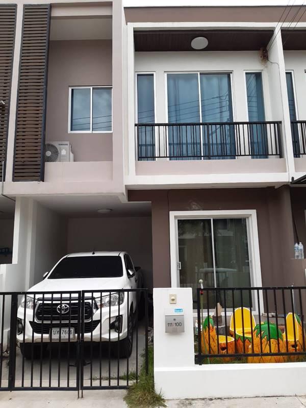 ขายบ้านทาวน์โฮม 2 ชั้น หมู่บ้าน บ้านดีบางโทรัด เครือ บริษัท D Land Group จำกัด