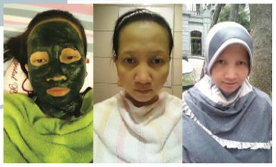 Masker Morning Power, Tridans, Wonder Meal dan Regenesis Cerahkan Kulit Saya
