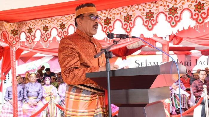 Ketua DPRD Bacakan Sejarah Kabupaten Sinjai di Puncak HJS ke-456