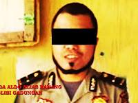 Tebar Pesona Sebagai Perwira Polisi, Ipda Aldo Alias Nanang Diamankan Polres Pangkep