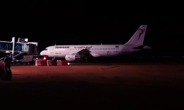 جربة وصول طائرة من بولونيا على متنها 112 تونسيا