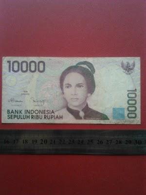 10000 rupiah tahun 1998