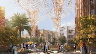Expo Dubai 2020-building Terrace