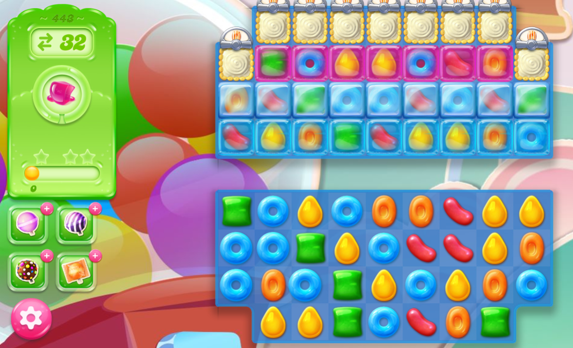 Candy Crush Jelly Saga 443