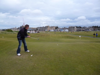 The Himalayas Putting Course at St Andrews in Scotland