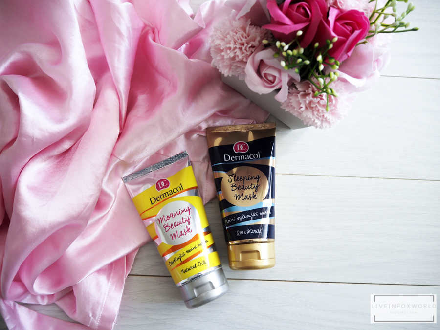 Dermacol | Nočná maska Sleeping Beauty Mask a Ranná maska Morning Beauty Mask