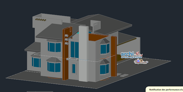 Project House AutoCAD
