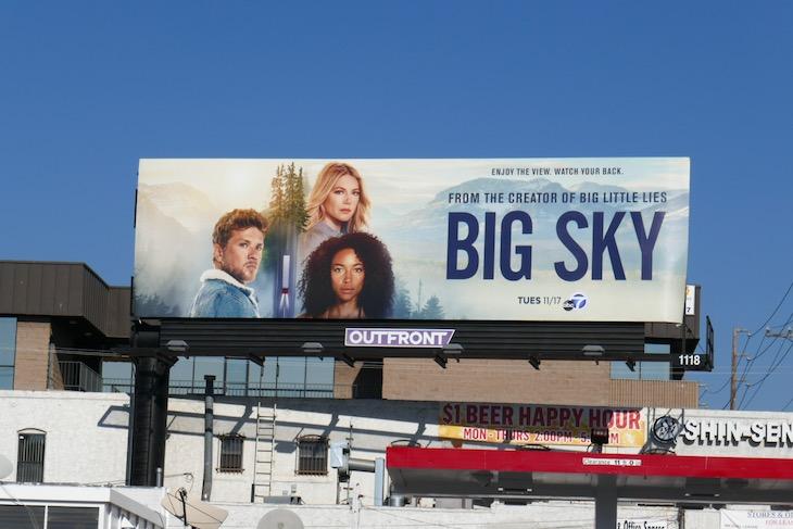 Big Sky season 1 billboard