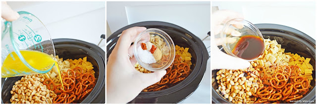 Learn how to make Crock Pot Chex Mix recipe from Served Up With Love