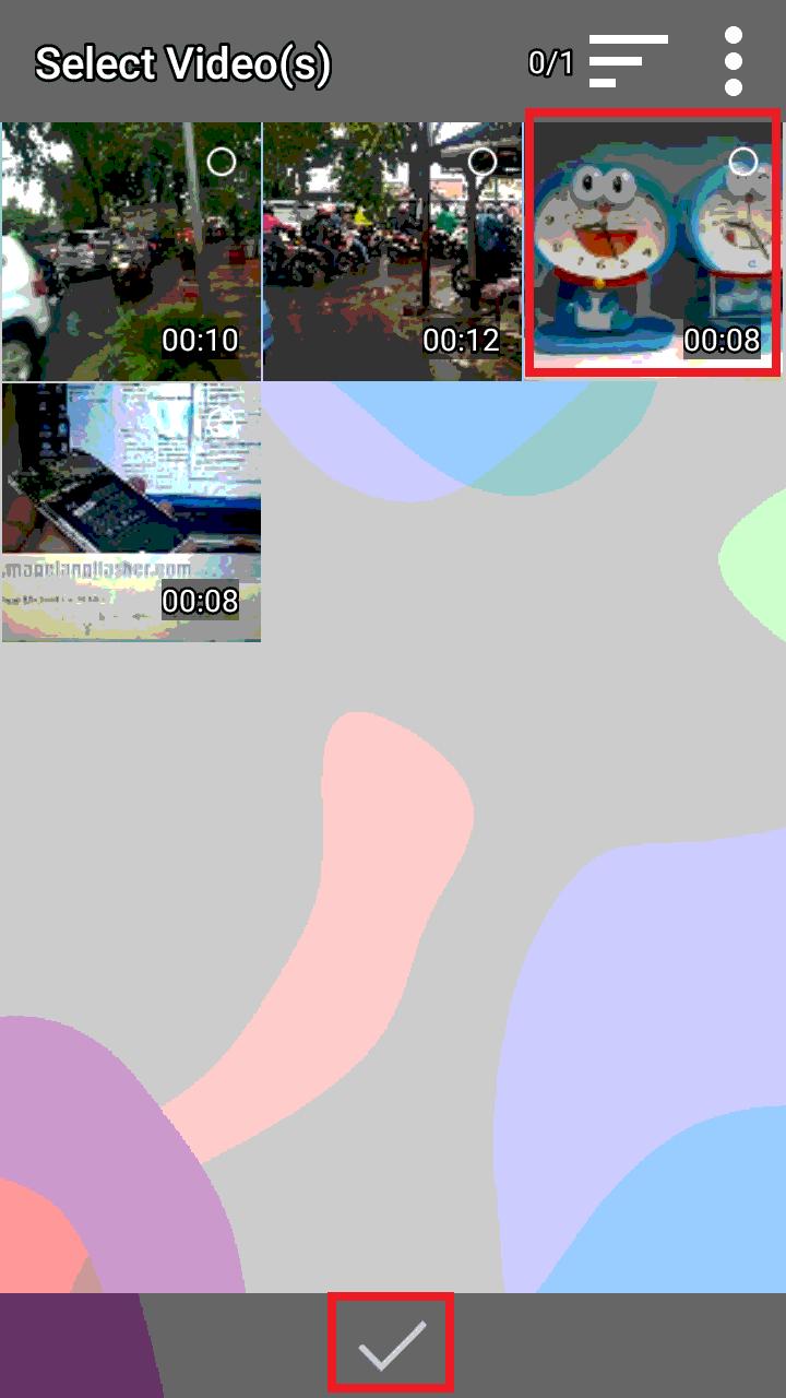 Cara Membuat Gambar GIF Sendiri Untuk WhatsApp Dengan Video2me di Android