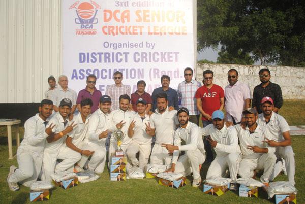 वैनी इलेवन ने जिला क्रिकेट सीनियर लीग का ख़िताब जीता