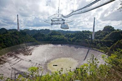 Observatorio icónico de Arecibo salvado de la demolición
