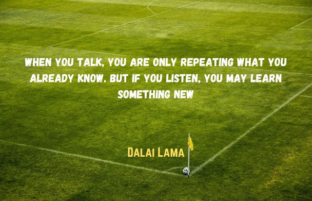 dalai lama listening quotes