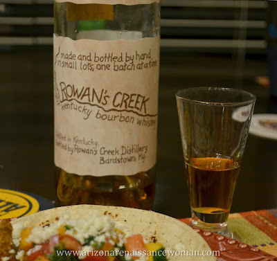 Bourbon for Smoked Pork Shoulder Tacos with Ancho-Bourbon Sauce and Fresh Peach-Habanero Salsa