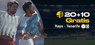 bwin promo Rayo vs Tenerife 11-10-2019