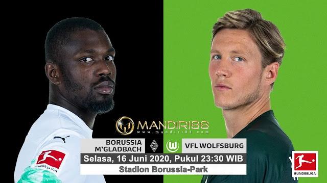 Prediksi Borussia Monchengladbach Vs VfL Wolfsburg, Selasa 16 Juni 2020 Pukul 23.30 WIB