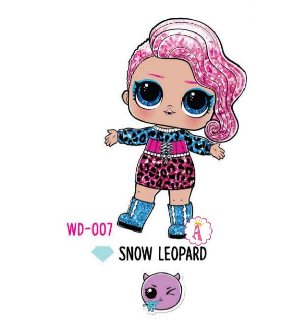 Snow Leopard WD-007 Лол Сюрприз зимняя коллекция