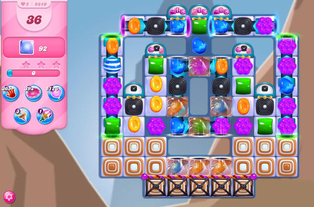 Candy Crush Saga level 9249