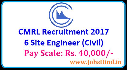 CMRL Recruitment 2017