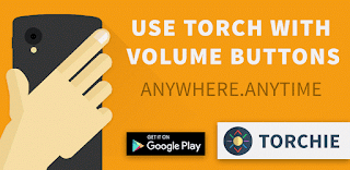 TORCHIE: turn ON/OFF torch on android just by volume button
