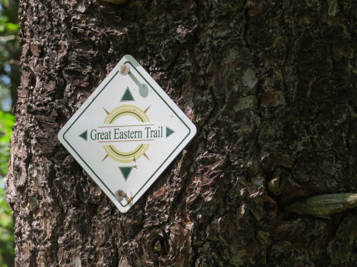Great Eastern Trail marker