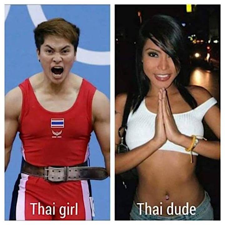 Mulher Tailandesa Vs Homem Tailandês