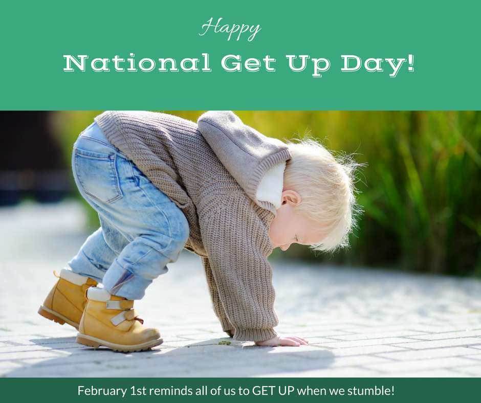National Get Up Day Wishes Images