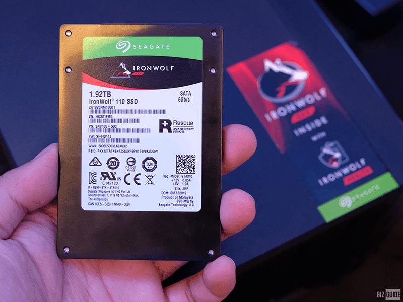 Iron Wolf 110 SATA SSD for NAS