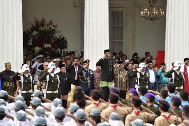 Jokowi Angkat Suara soal Alumni 212 yang Gugat Perppu Ormas