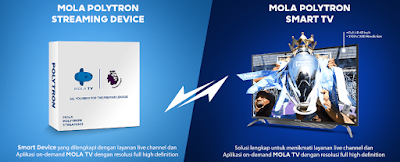 Mola Polytron Streaming Device dan Smart TV