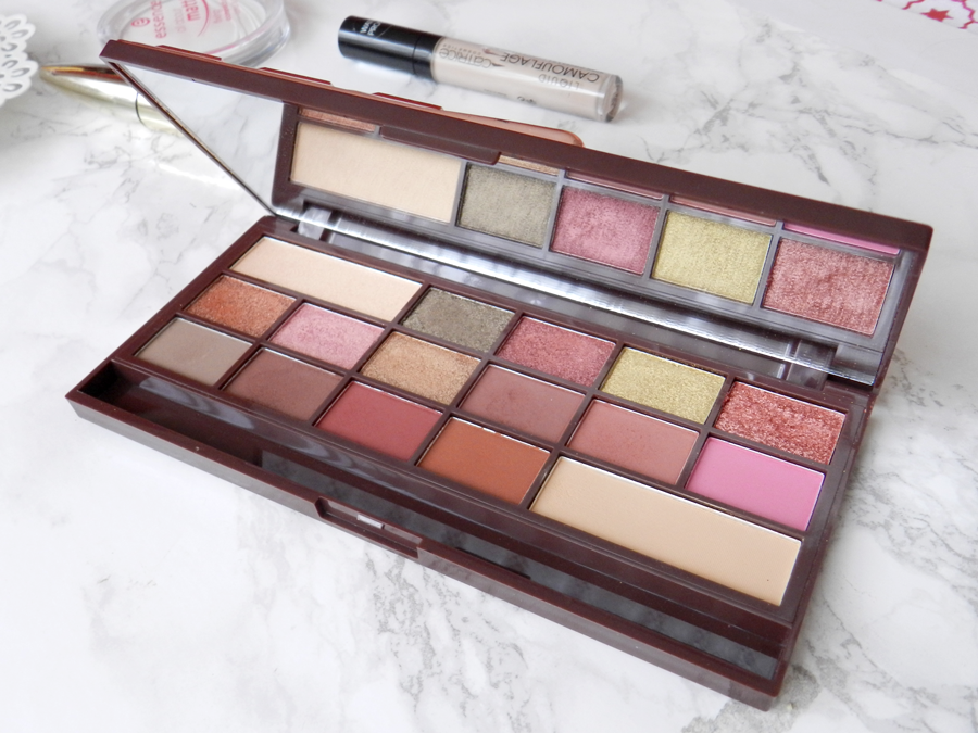 I ♥ make up Chocolate rose gold palette