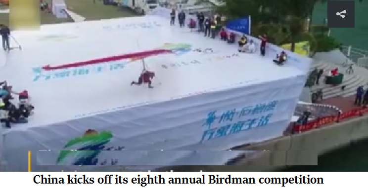 China kicks off its eighth annual Birdman competition