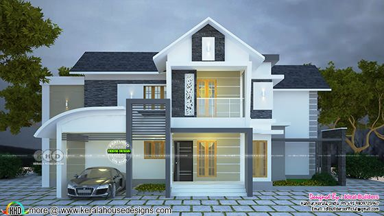 2727 square feet modern home