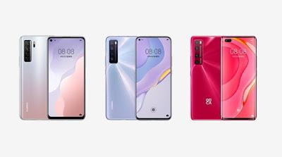 Huawei Nova 7 SE 5G, Nova 7 5G,  Nova 7 Pro 5G Launched
