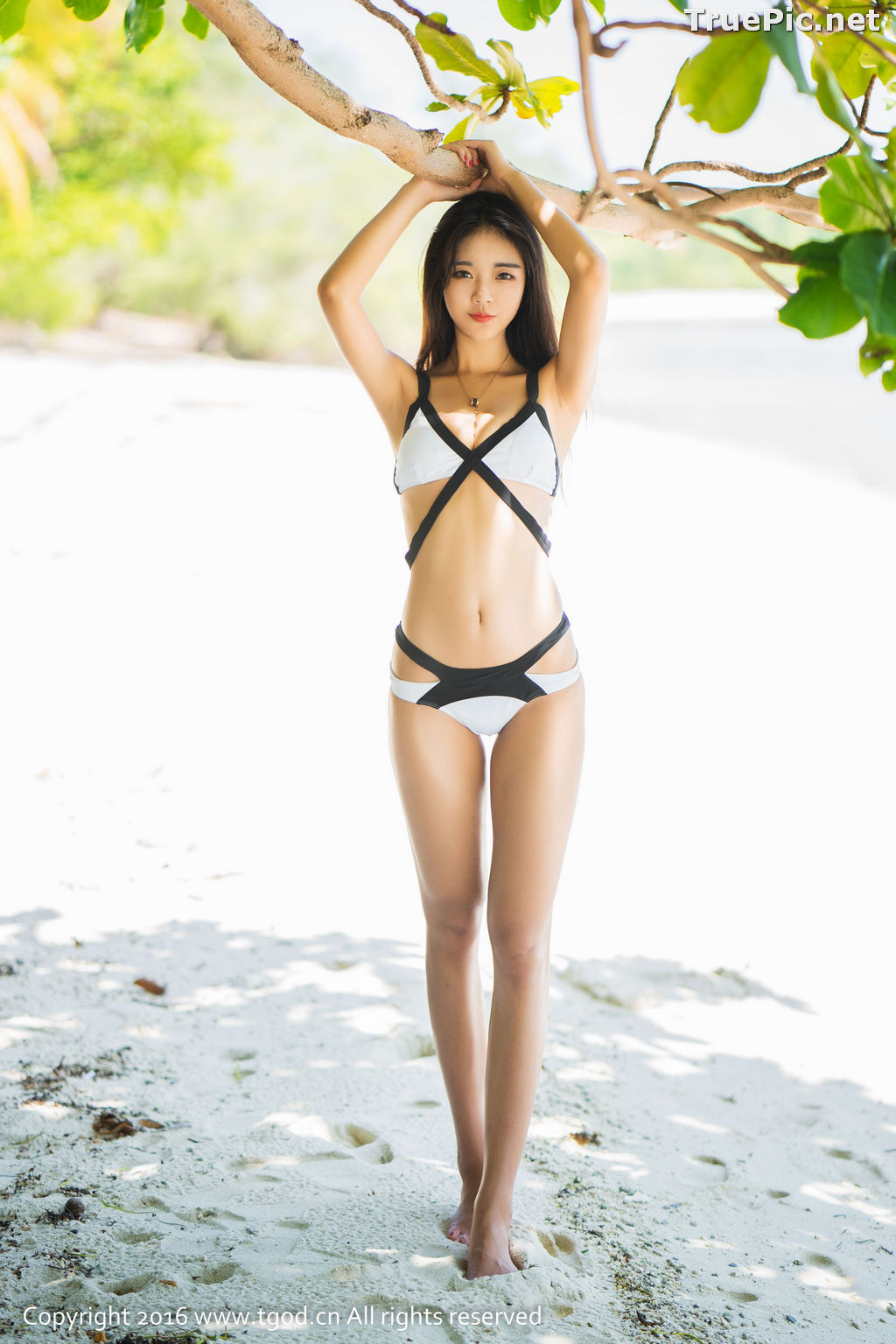 Image TGOD Photo Album – Ke Le Vicky (可乐Vicky) - From Student Uniform to Bikini - TruePic.net - Picture-2