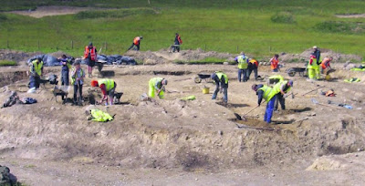 Irish motorway dig reveals finds dating back to 3500BC